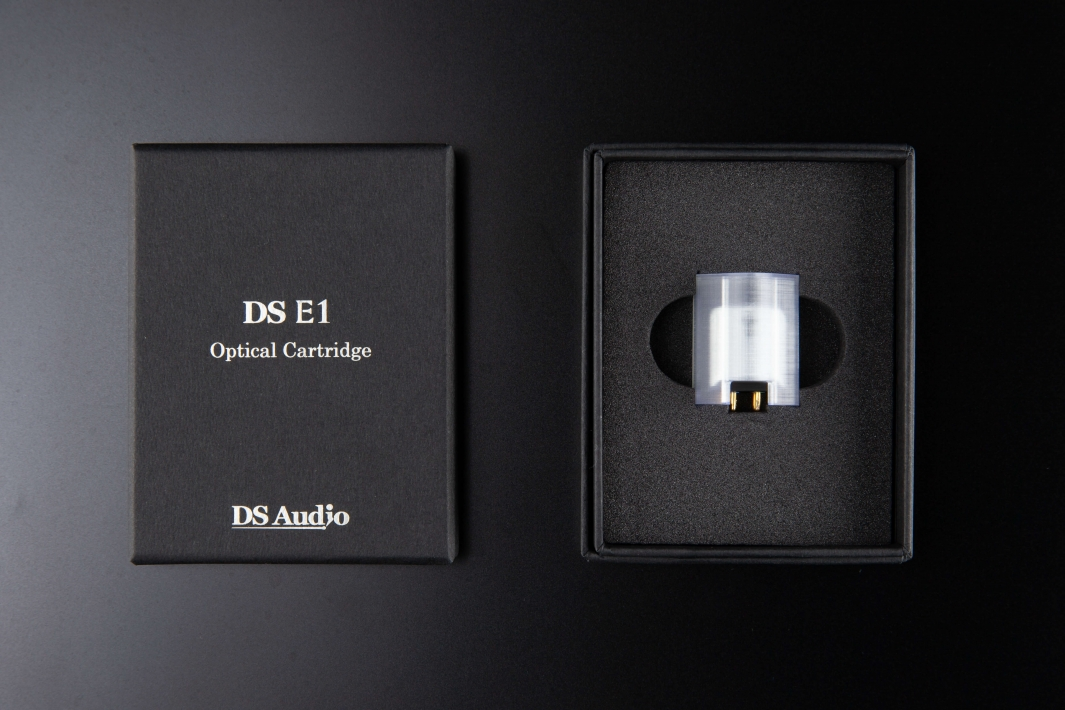 DS AUDIO DS-E1 OPTICAL CARTRIDGE + EQUALIZER DS-E1